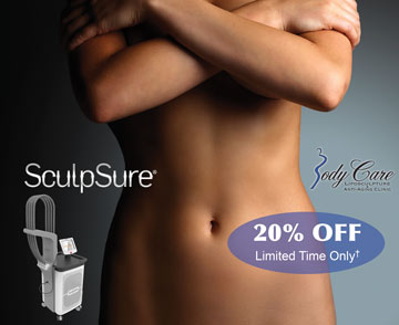sculpsure 20% off in Ft Lauderdale at Body Care